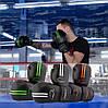 Боксерские перчатки PowerPlay 3016 черно-оранжевый 8 унций, фото 10