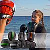 Боксерські рукавиці PowerPlay 3016 Чорно-Зелені 16 унцій, фото 10