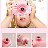 Генератор мыльных пузырей в виде фотоаппарата Игрушка для детей, фото 3