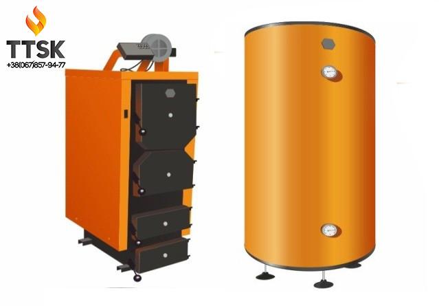 ДТМ ТУРБО 17 кВт + ДТМ Теплоаккумулятор 900 л + Ладдомат + Расширительный бак 200 л
