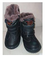 Ботинки зимние для мальчиков TOLE р.22-27