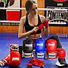 Боксерские перчатки PowerPlay 3019 синие 8 унций, фото 10