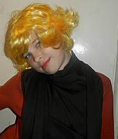 Парик золотой блондин