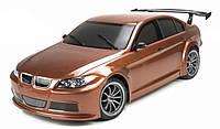 Машинка на радиоуправлении шоссейная Team Magic BMW 320 коричневая (машинки на пульте управления)