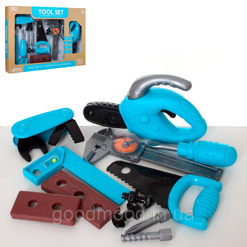Набір інструментів 6643-1 пила-механічна, викрутка, штангенциркуль, кор., 43,5-31-5,5 см.
