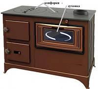 Печь - буржуйка с 2-мя конфорками и духовкой EK-5010