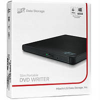 Привід Hitachi-LG GP57EB40 DVD+-R/RW USB2.0 EXT Ret Ultra Slim Black
