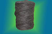 Шерсть для валяния гребенная лента серая