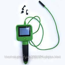Видео ендоскоп для технического использования с экраном 2.4 ЗЕЛЕНЫЙ ( бороскоп эндоскоп )