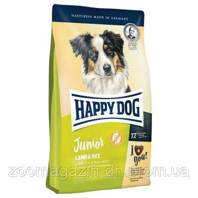 Happy Dog Supreme Young Junior с ягненком и рисом (безглютеновый) корм для собак 1 кг