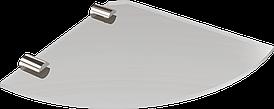 Полка стеклянная угловая Andex Sanibella, 500cc
