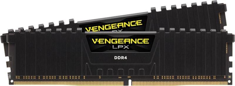 Модуль памяти DDR4 2x16GB/3200 Corsair Vengeance LPX Black (CMK32GX4M2B3200C16)
