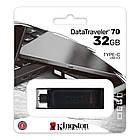 Флеш-накопитель USB3.2 32GB Type-C Kingston DataTraveler 70 Black (DT70/32GB), фото 3