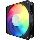 Вентилятор CoolerMaster SickleFlow ARGB (MFX-B2DN-18NPA-R1), 120х120х25 мм, 3pin, 4pin, Black, Single pack w/o Hub, фото 2