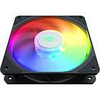 Вентилятор CoolerMaster SickleFlow ARGB (MFX-B2DN-18NPA-R1), 120х120х25 мм, 3pin, 4pin, Black, Single pack w/o Hub, фото 3