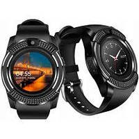 Смарт часы V8 Черные Original Smart Watch Смарт часи V8, фото 1