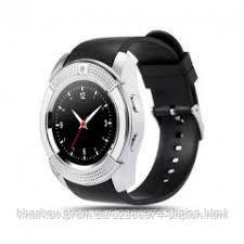 Смарт часы V8 Серые Original Smart Watch Смарт часи V8