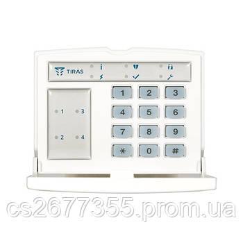 Доступна світлодіодна клавіатура для керування системою K-LED4