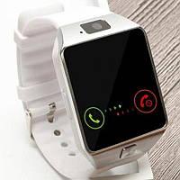 Смарт часы DZ09 Белые Original Smart Watch Смарт часи DZ09