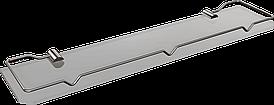 Полка стеклянная c ограничителем (50см) Andex Sanibella, 502/50cc