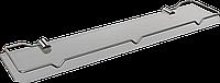 Полка стеклянная c ограничителем Sanibella, 60 см