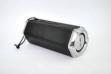 Портативная колонка 4YOU FOREVER (IPX5, 10W, 1500mah, эксклюз. дизайн, гар 12мес) black, фото 3