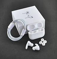 Bluetooth-гарнитура Air Pro Airoha (+кейс для зарядки и хранения) White