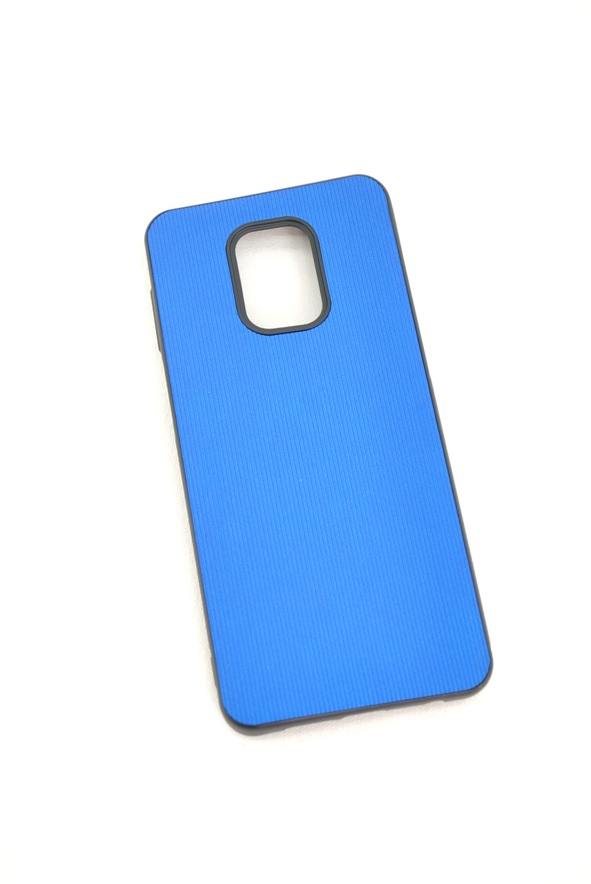 Чехол Xiaomi Redmi Note 9Pro/9Pro max/9s Silicon RIFLE blue