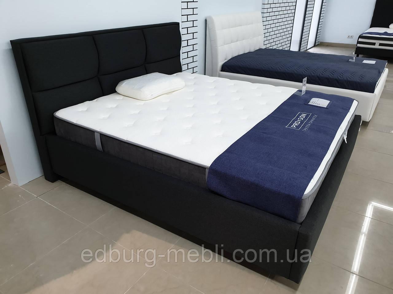 Кровать Aurora с мягким изголовьем
