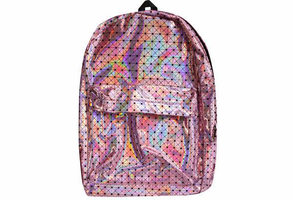 Рюкзак підлітковий для дівчинки Kidis поліуретановий 42,5 * 30 * 16 см РОЖЕВИЙ