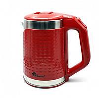 Чайник электрический Domotec Ms-5027 Red, 2000Вт