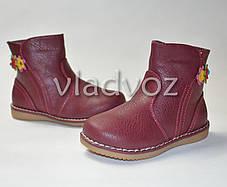 Ботинки для девочки красные Apawwa 27р., фото 3