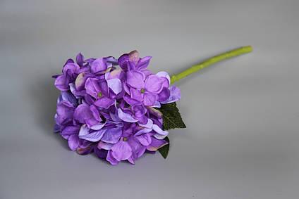 Искусственный цветок Гортензия, 35 см, фиолетовый (630249)