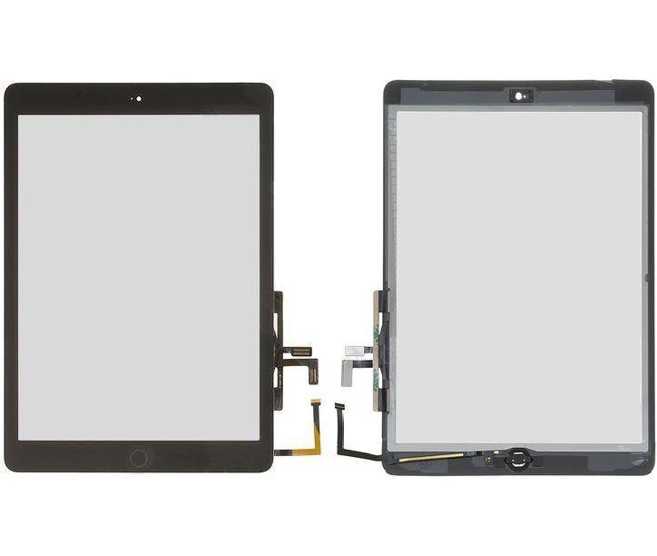 Сенсор (тачскрин) Apple iPad Air (A1474, A1475, A1476, полный комплект с кнопкой Home) (high copy) Black