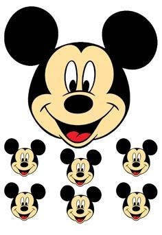 "Вафельна картинка ""Міккі і Міні Маус"""