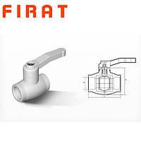 Кран полипропиленовый шаровый  Firat, 32 мм