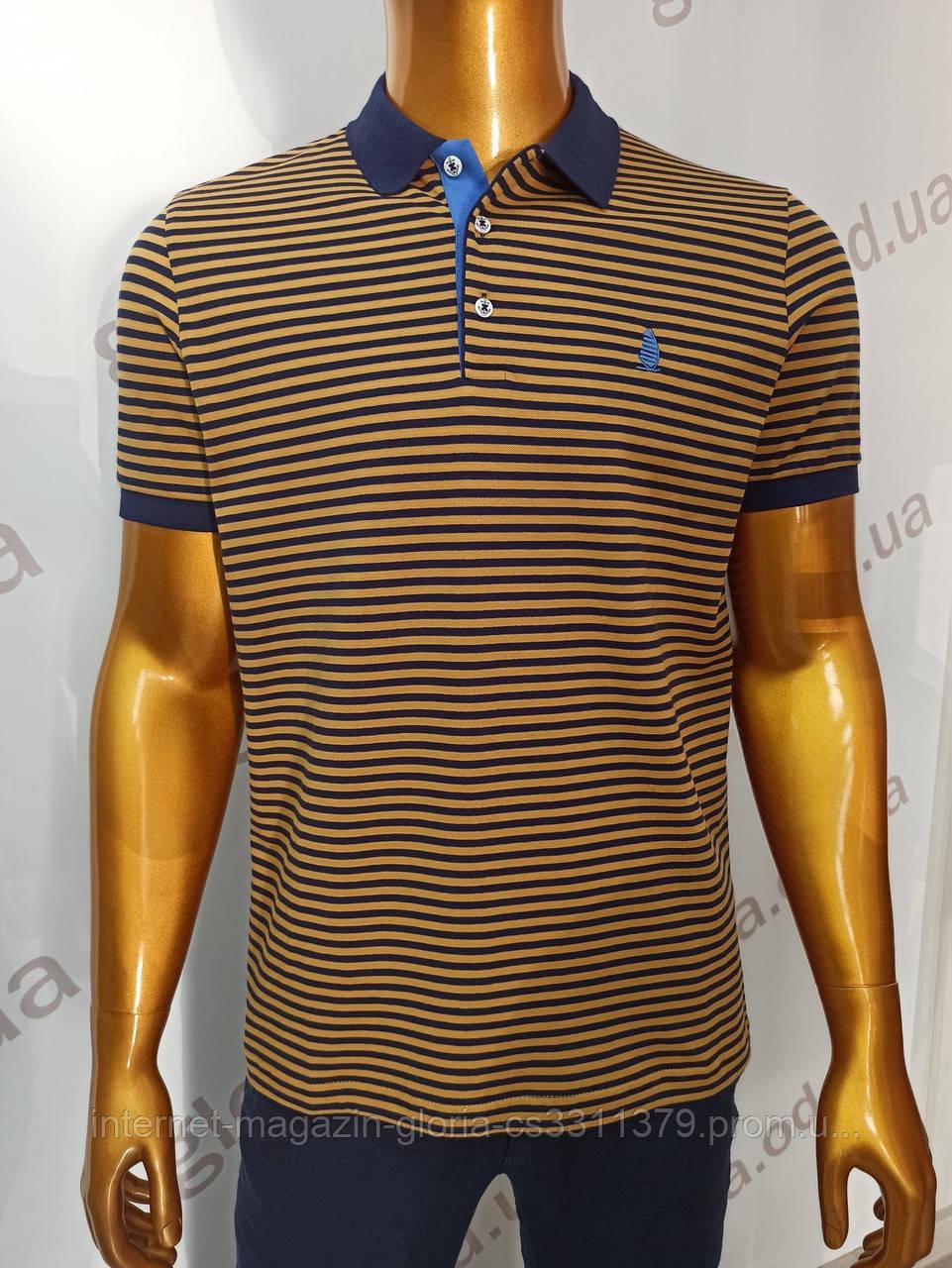 Мужская футболка поло Tony Montana. PSL-1003g (tmp241-8). Размеры: M,L,XL,XXL.