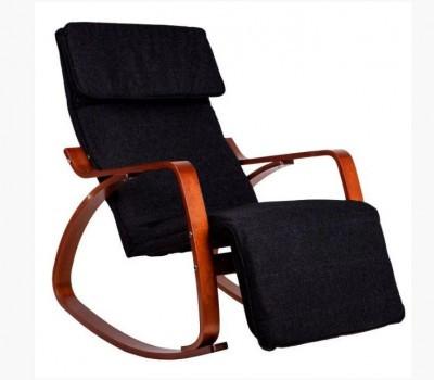 Кресло качалка GoodHome TXRC 003 Walnut
