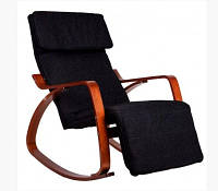 Кресло качалка GoodHome TXRC 003 Walnut, фото 1