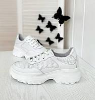 Белые весенние кроссовки от производителя, фото 1