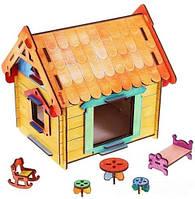 Деревянный конструктор Woody - Мой дом