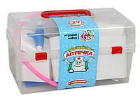 """Игровой набор доктора """"Волшебная аптечка"""" в чемоданчике + 28 предметов."""