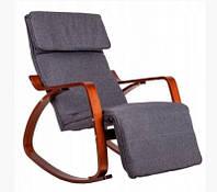 Кресло качалка GoodHome TXRC 002 Walnut, фото 1