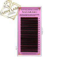 Коричневые Ресницы Nagaraku (Нагараку) отдельная длина