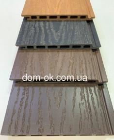Сайдинг для фасада из ДПК  HOLZDORF 168х13 мм коллекция Импрэсс