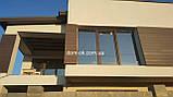 Сайдинг для фасада из ДПК  HOLZDORF 168х13 мм коллекция Импрэсс, фото 6