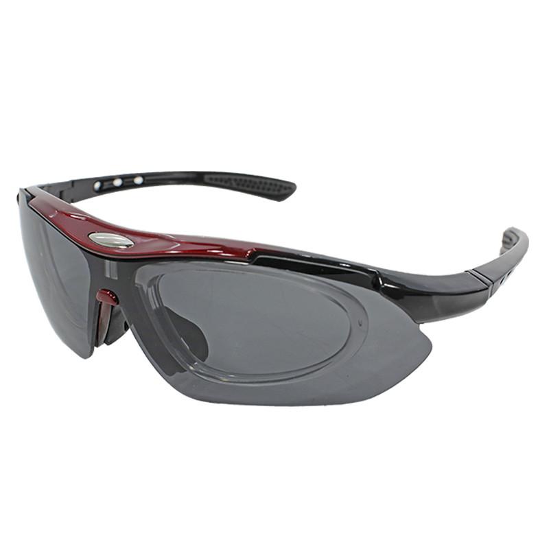 Солнцезащитные поляризационные очки Han-Wild 9303 Red для вело спорта и водителей антибликовые
