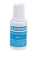 Корректирующая жидкость с кисточкой 20мл Donau