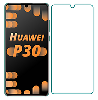 Защитное стекло для Huawei P30 прозрачное 2.5D 9H (хуавей п30)