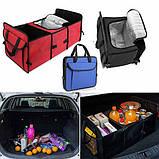 Органайзер - холодильник у багажник автомобіля Trunk Organaizer and Cooler, фото 3